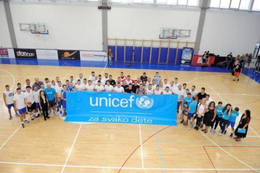"""Na UNICEF-ovom humanitarnom turniru prikupljeno više od 800,000 dinara za GAK """"Narodni front"""""""
