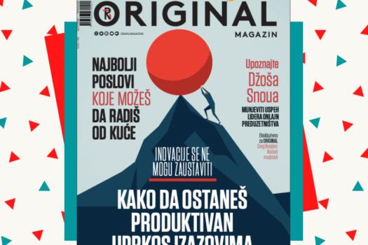 Magazin Fondacije Novak Đoković besplatno na sajtu www.originalmagazin.com